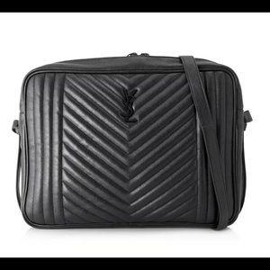Saint Laurent Monogramme Camera Bag Caviar leather